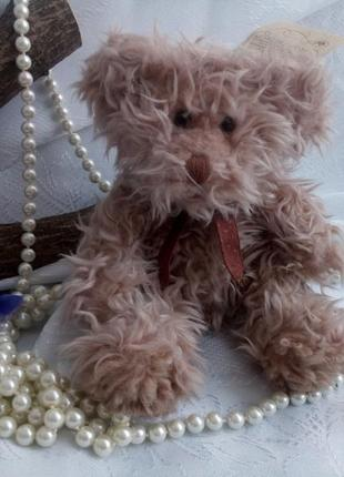 Teddy bear мишка-крошка мягкая игрушка russ пушистый маленький оригинал винтаж