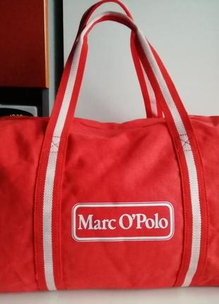 Німецька фірмова спортивна-дорожня сумка marc o polo!!! оригінал!!