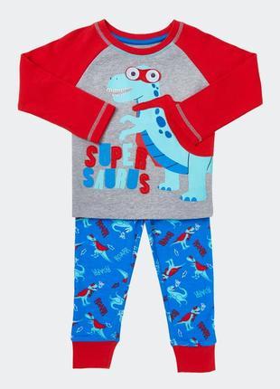 Шикарная пижамка от dunnes из англии. размеры 18-24,2-3,3-4 года