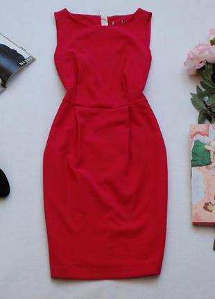 Красивое малиновое платье по фигуре f&f 10-12uk
