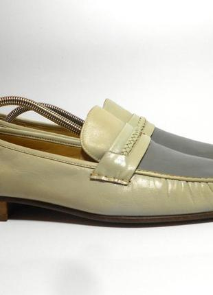 Кожаные мужские туфли / лоферы grenson zero range, размер 44 - 45