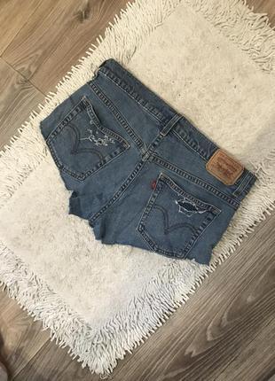 Шорты джинсовые levis