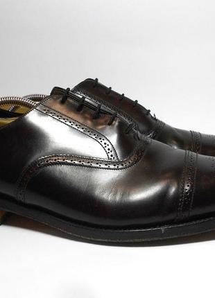 Мужские кожаные туфли grenson англия, размер 44 - 45