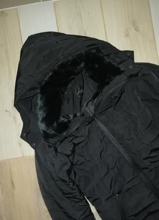 Германия тёплая куртка с капюшоном mark adam, пуховик, пальто zara bershka topshop mango