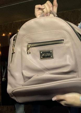Рюкзак пыльно розовый