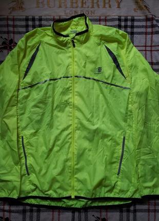 Беговая рефлективна куртка ветровка karrimor