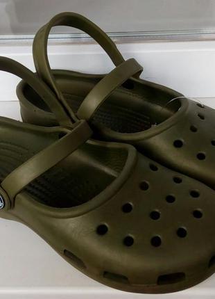Фирменные crocs