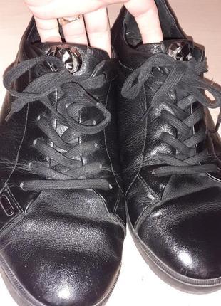 Туфли спортивные кожа