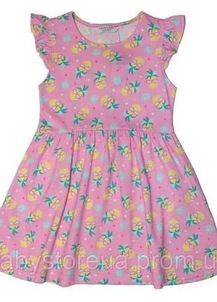 Платье летнее хлопок 2-3 года