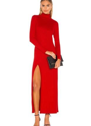 Роскошное макси платье с разрезом скидка capulet p.36/38