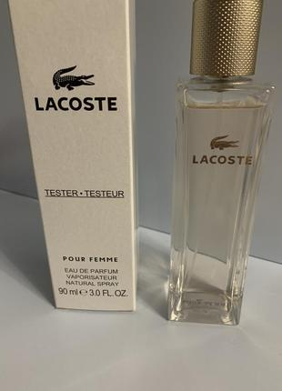 Lacoste pour femme 90 ml тестер оригинал