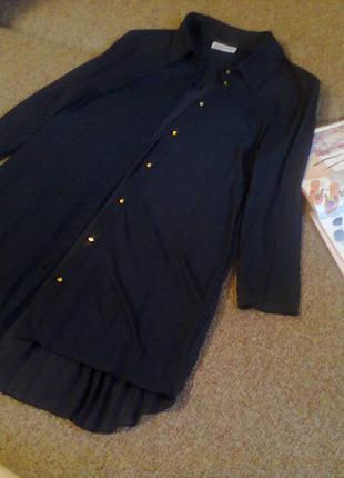 Шикарная блуза дорогого бренда clockhouse