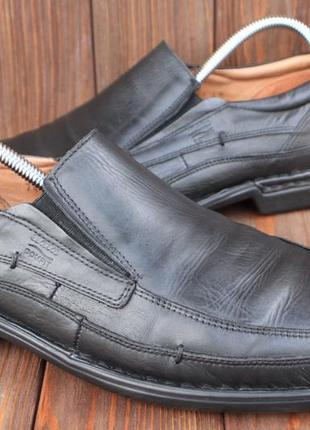 Туфли bata кожа чехия 43р лоферы мокасины