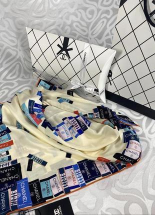 Стильный шелковый платок {отличный вариант подарка в стильной упаковке}