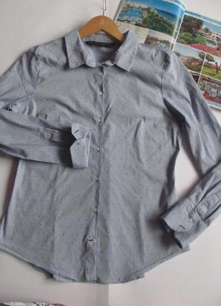 Базовая рубашка в полоску