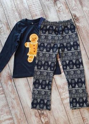 Піжама пижама новогодняя піжамка новорічна