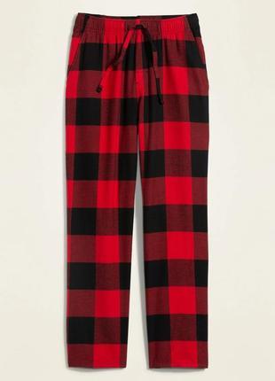 Мужские фланелевые штаны пижама домашние old navy сша