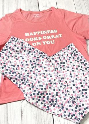 Хлопковая пижама новая аутлет