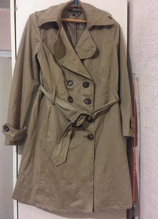 Стильный тренч  плащ пальто