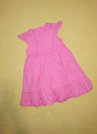 Красивое платье, платье на девочку 9-12 мес. george