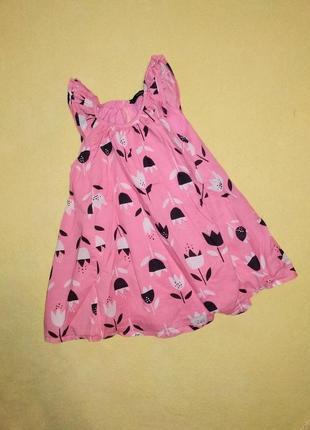 Красивое платье, платье на девочку 18-24 мес. george