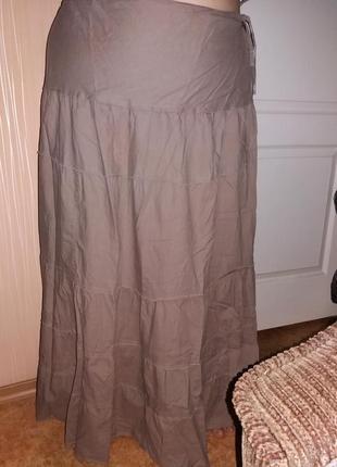 Длинная юбка (макси), юбка в пол большого размера