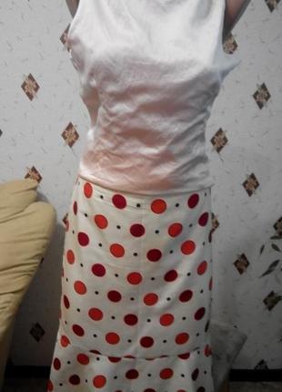 Лёгкая юбка из натурального шёлка