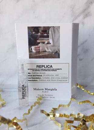 Нишевый аромат. туалетная вода coffee break maison martin margiela пробник replica