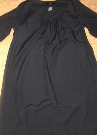 Стильное платье la redoute 55% шелк, 45%коттон