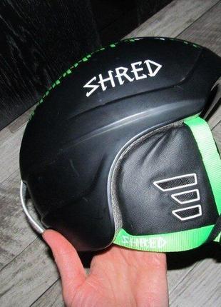 Шлем горнолыжный shred mega brain p s 54 см