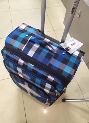 Чемодан маленьктй  ,легкий чемодан - ручная кладь.8 фото