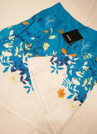 Новая летняя юбка ostin. яркая юбочка.