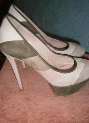 Туфли от известного бренда why denis 37 размера