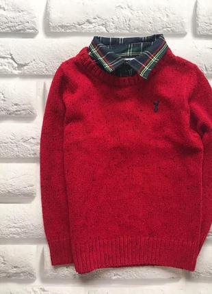 Matalan  стильный свитер на мальчика  1-2 года