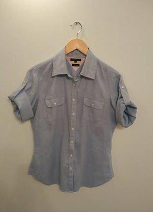 Класная тениска лен tommy-hilfiger