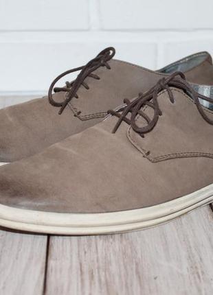 Кожаные туфли в стиле кэжуал от vagabond 42 размер 100% натуральная кожа