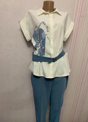 Женский деловой костюм для офиса