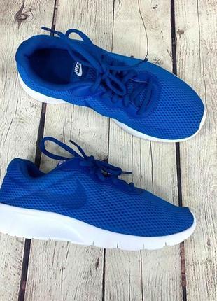 Женские кроссовки nіке tanjun blue