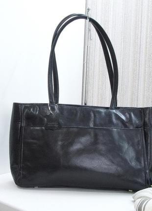 Кожаная сумка, danier, италия, натуральная кожа.