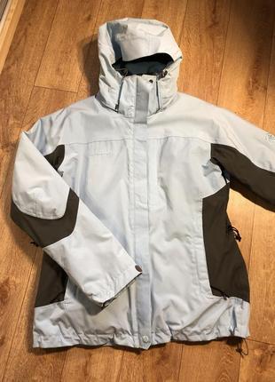 Зимняя трекинговая курточка mammut новая