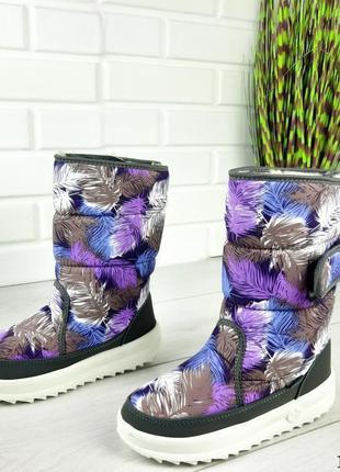 Ботинки сапоги дутики зимние