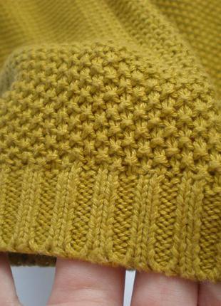 Хлопковый свитер oversize yessica