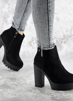 Ботинки ботфорты зимние