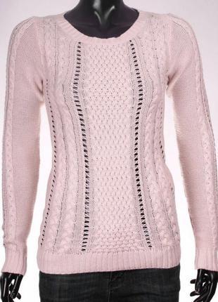 Супер кофточка/свитерок нежно розового цвета
