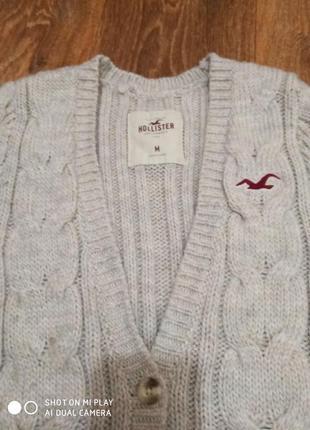 Кардиган свитер hollister