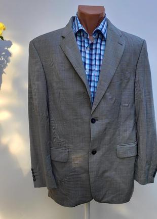 Чоловічий сірий піджак розмір наш 50 ( с-35)