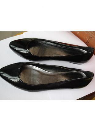 Лаковые балетки туфли--огромный выбор--сток