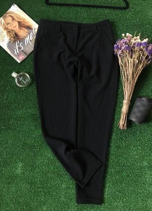Черные брюки от kira plastinina ( не секонд )