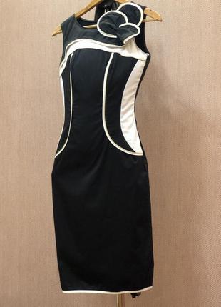 Платье tom klaim в стиле karen millen коттон
