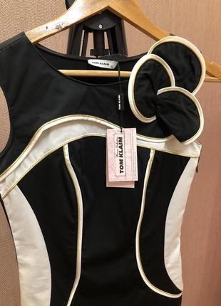 Платье tom klaim в стиле karen millen коттон2 фото